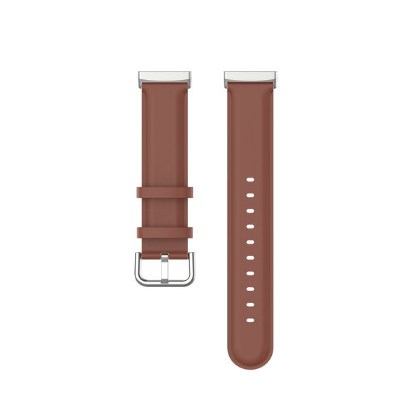 123Watches Fitbit Versa 3 / Sense Lederband - braun