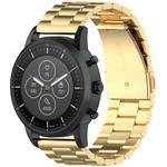 123Watches Huawei watch GT drei Stahlglieder Perlenband - Gold