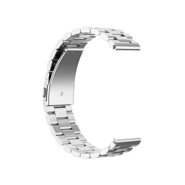 123Watches Huawei watch GT drei Stahlglieder Perlenband - Silber