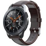 123Watches Huawei watch GT / fit Lederband - Dunkelbraun