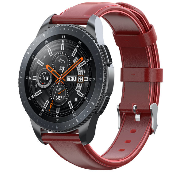 123Watches Huawei watch GT / fit Lederband - rot