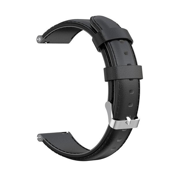 123Watches Huawei watch GT / fit Lederband - schwarz