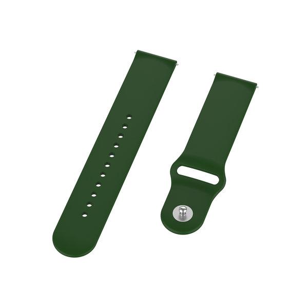 123Watches Huawei watch GT / fit Silikonarmband - Armeegrün