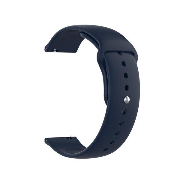 123Watches Huawei watch GT Silikonarmband - Navy blau