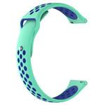 123Watches Huawei watch GT Silikon Doppelband - blaugrün