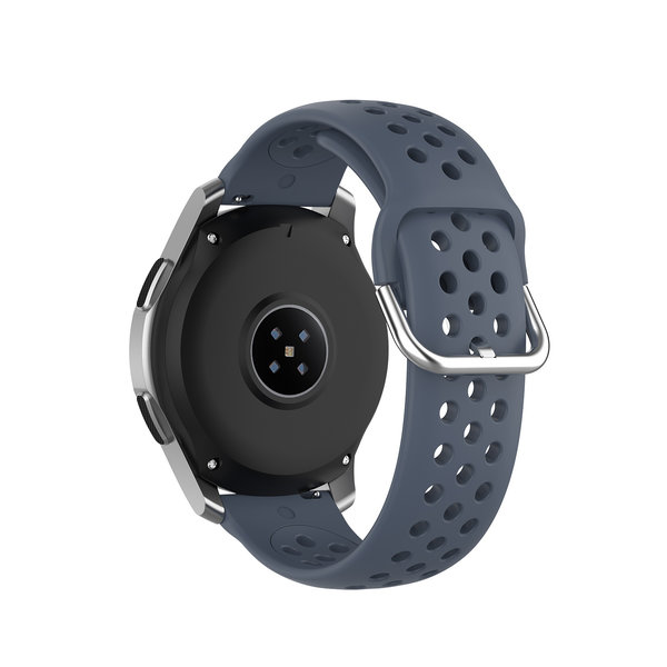 123Watches Huawei watch GT silicone doppel Schnallenriemen - grau
