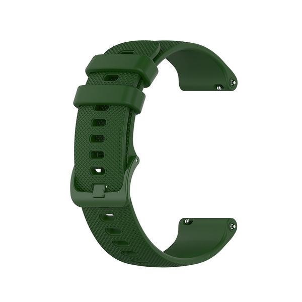 123Watches Huawei watch GT Silikon Schnallenband - Grün
