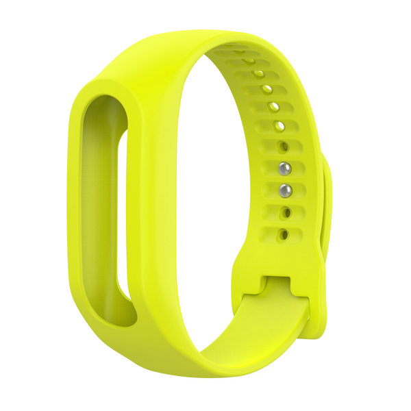 123Watches TomTom Touch Silikonschnallenband - gelb