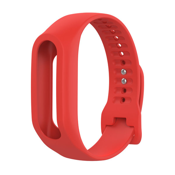 123Watches TomTom Touch Silikonschnallenband - rot