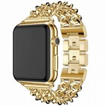 123Watches Apple watch stahl cowboy link band - gold