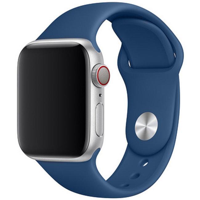 Apple watch sport band - blue horizon