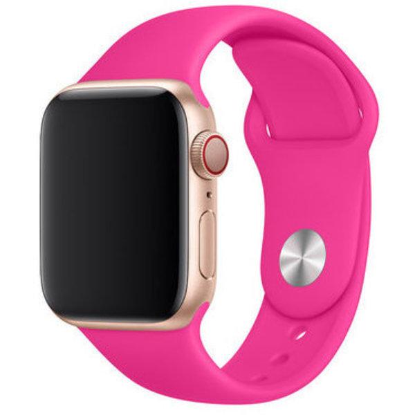 123Watches Apple watch sport band - leuchtend rosa