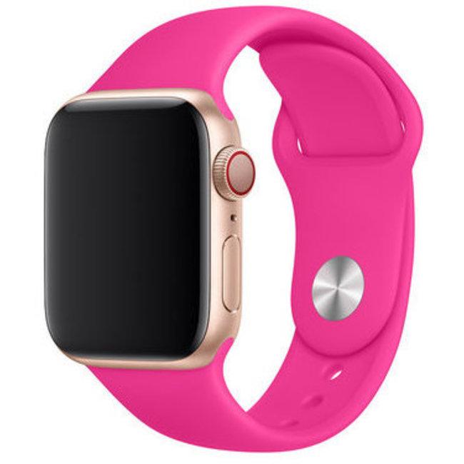 Marke 123watches Apple watch sport band - leuchtend rosa