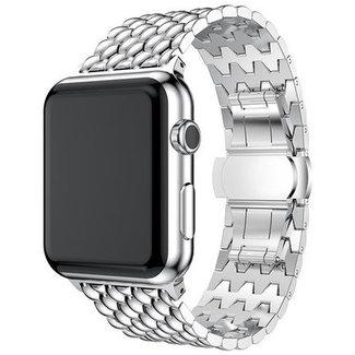 Marke 123watches Apple watch Drache Gliederband - Silber
