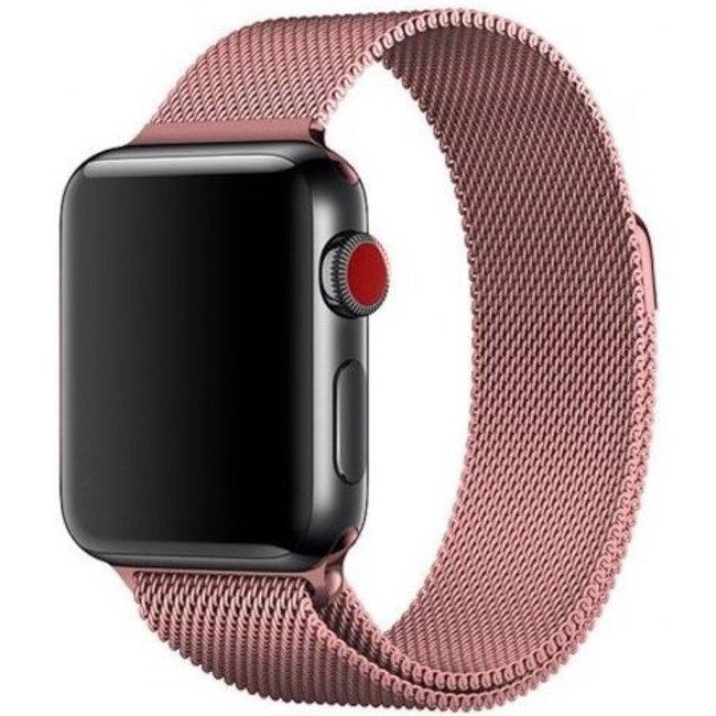 Apple watch milanese band - rose rot