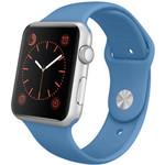 123Watches Apple watch sport band - denim blue
