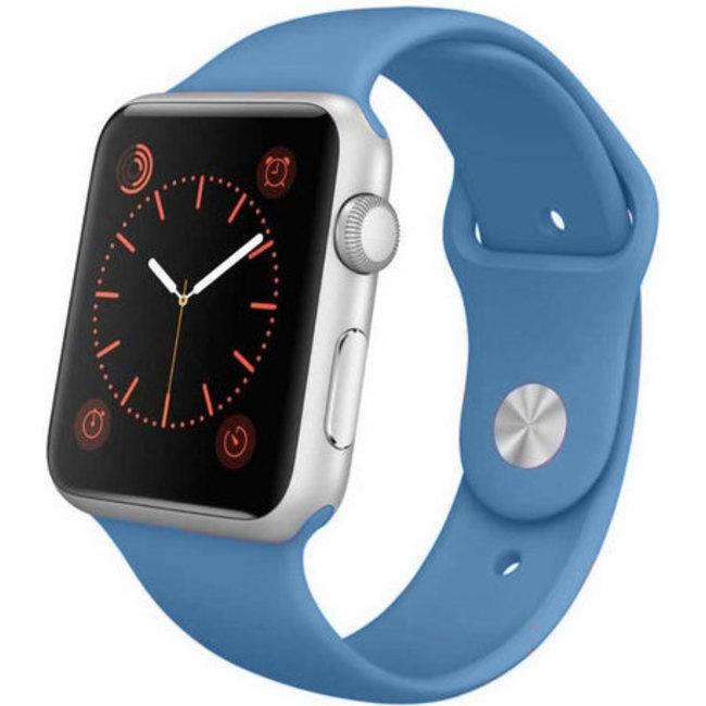Marke 123watches Apple watch sport band - denim blue