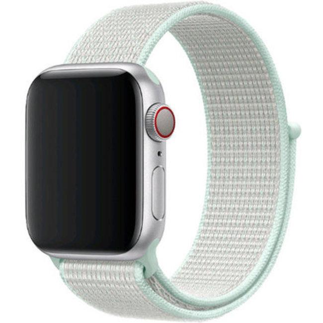 Marke 123watches Apple watch nylon sport band - blaugrüne Tönung