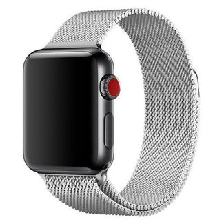 Marke 123watches Apple watch milanese band - silber
