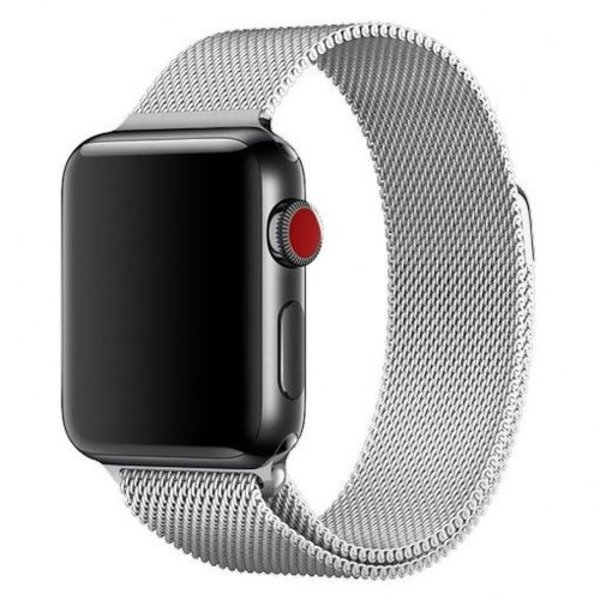 123Watches Apple watch milanese band - silber