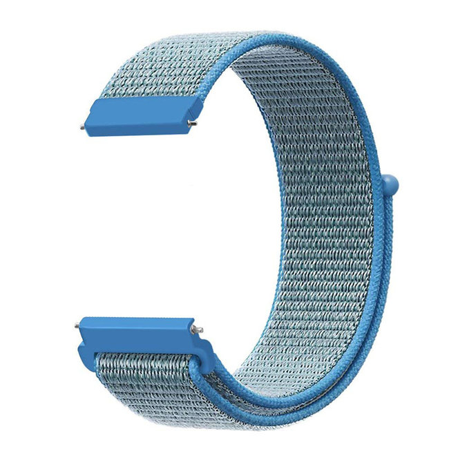 Marke 123watches Samsung Galaxy Watch nylon sport band - tahou Blau