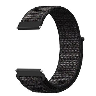 Marke 123watches Huawei watch GT nylon sport band - schwarz mischen