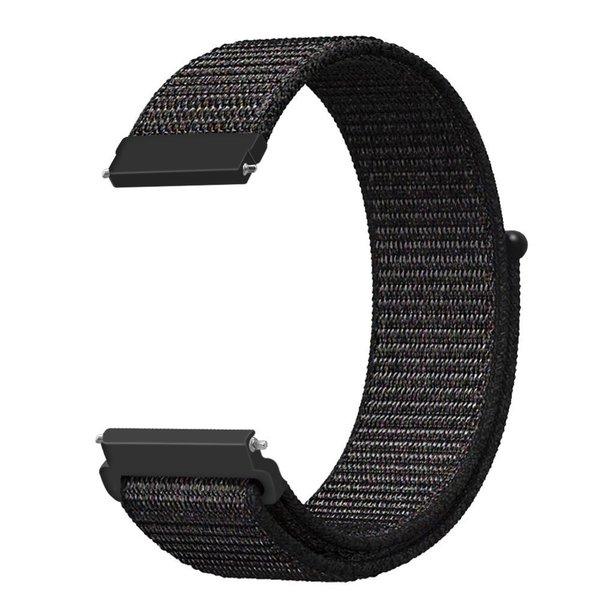 123Watches Huawei watch GT nylon sport band - schwarz mischen