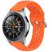 Marke 123watches Polar Ignite silicone Doppelschnallenband - Orange