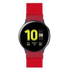 123Watches Samsung Galaxy Watch geflochtene Soloband - rot