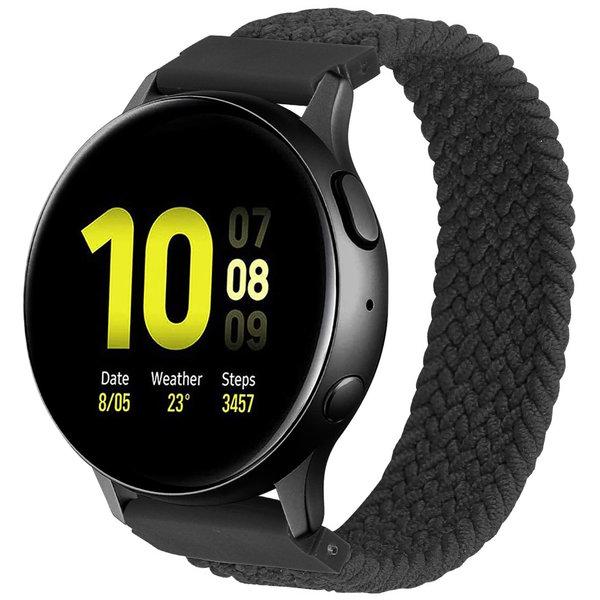 123Watches Samsung Galaxy Watch geflochtene Soloband - Holzkohle