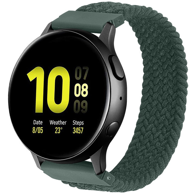 Huawei watch GT geflochtene Soloband - Inverness grün