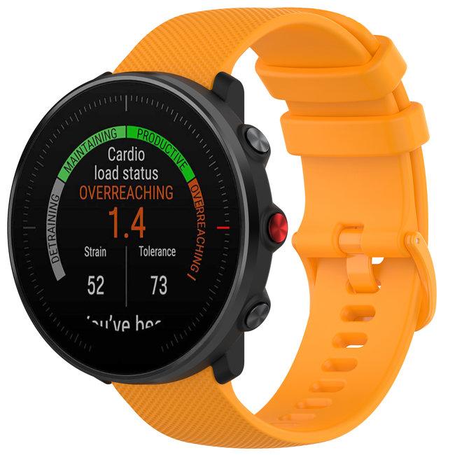 Marke 123watches Polar Vantage M / Grit X Silikonschnallenband - Orange