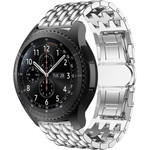 123Watches Samsung Galaxy Watch Drache Stahlgliederband - Silber