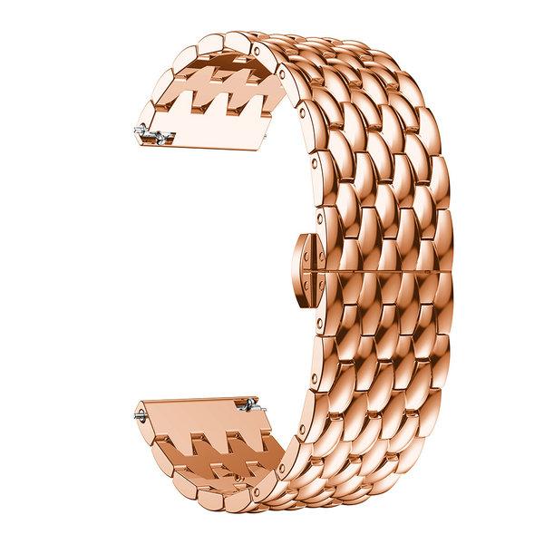 123Watches Samsung Galaxy Watch Drache Stahlgliederband - Rose Gold