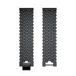 123Watches Polar Vantage M / Grit X Fisch Stahlgliederband - schwarz