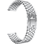123Watches Polar Vantage M / Grit X Fisch Stahlgliederband - Silber