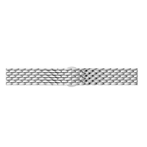 123Watches Polar Vantage M / Grit X Drache Stahlgliederband - Silber