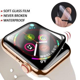 Marke 123watches Flexibler Apple Watch Displayschutz