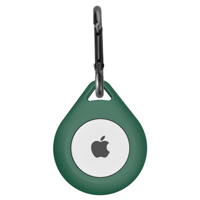 Marke 123watches AirTag Silikon Drop Schlüsselring - grün