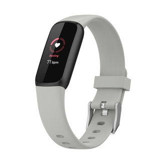 Merk 123watches Fitbit Luxe  sport band - grau