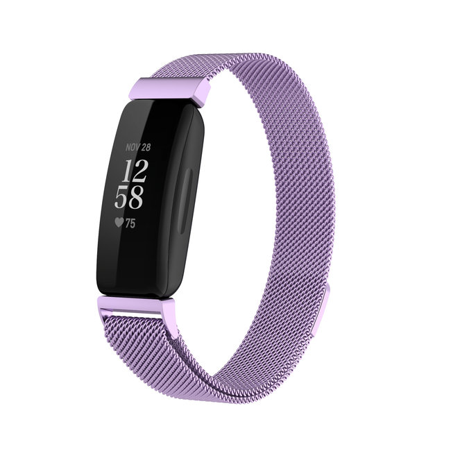 Fitbit Inspire 2 milanese band - lavendel