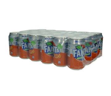 Coca Cola Company Fanta Naranja Zero