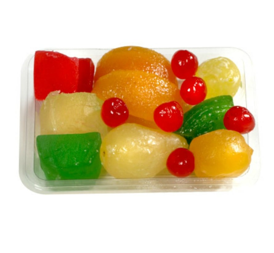 Gekonfijt fruit assorti