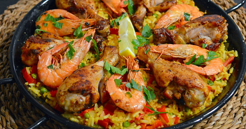 Paella Marisco Recept