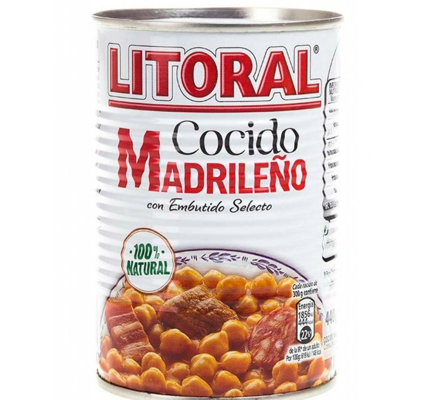 Cocido Madrileña
