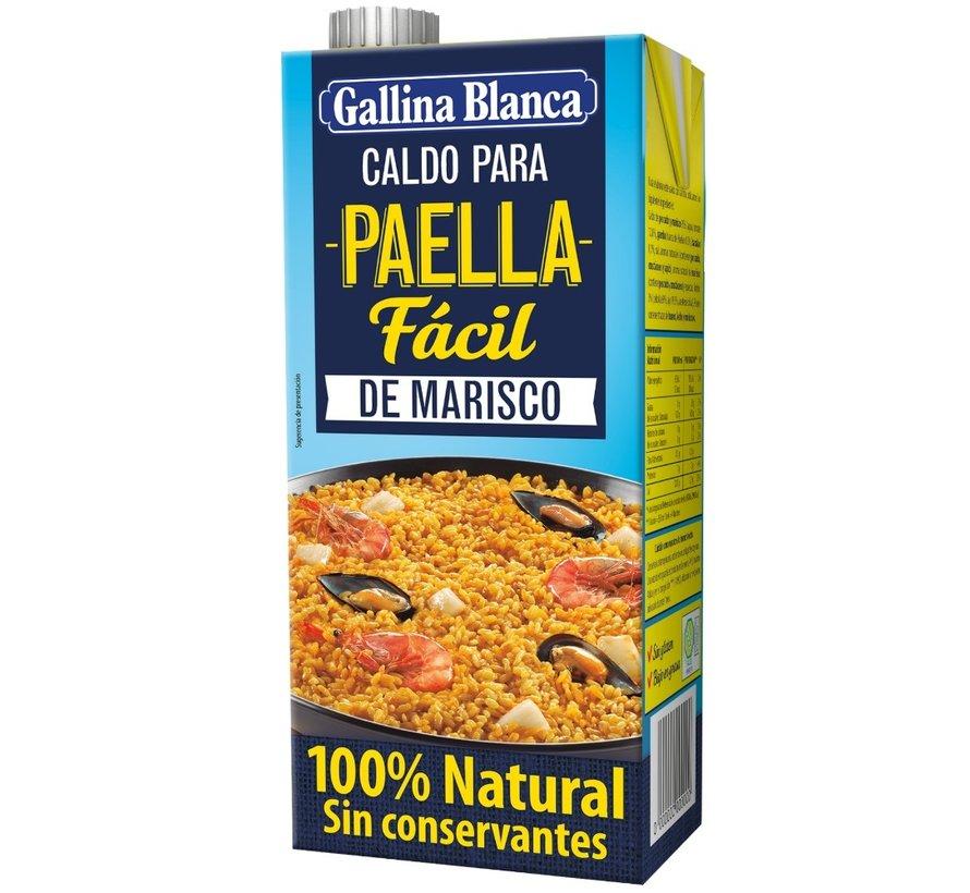 Caldo Paella Marisco