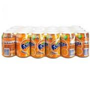 Coca Cola Company Fanta Naranja Tray