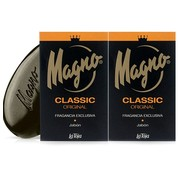magno Magno Classic Zwarte Zeep 2 pack