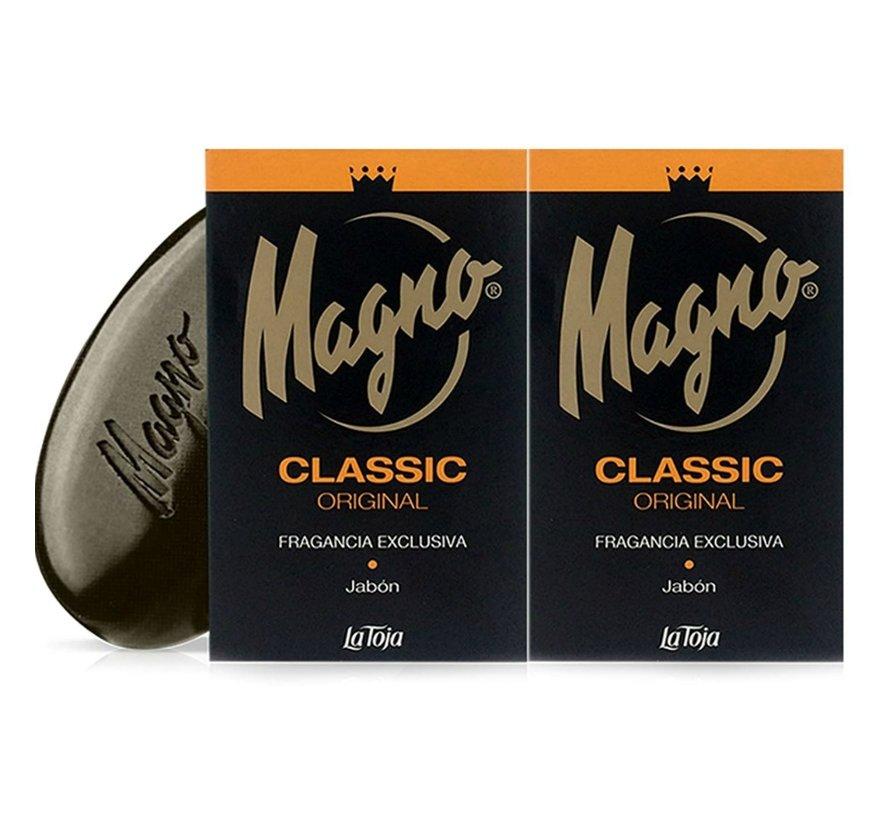 Magno Classic Zwarte Zeep 2 pack