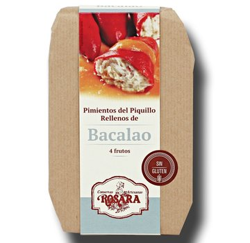 Rosara Piquillo Peper Kabeljauw